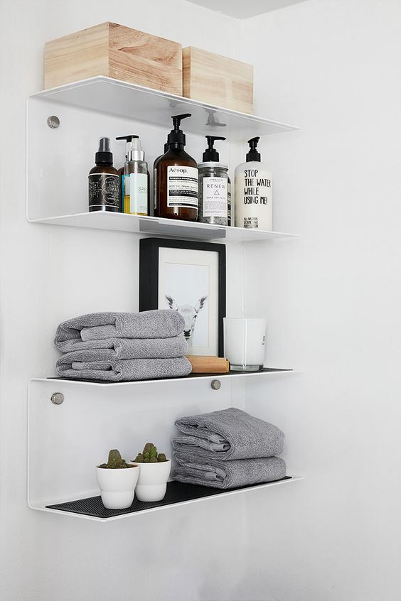 27 estanterias armarios banos 5 decoracion de - Estanterias para armarios ...