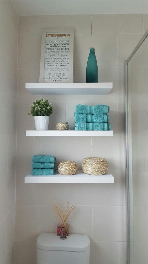 27 estanterias armarios banos 8 decoracion de - Estanterias para armarios ...