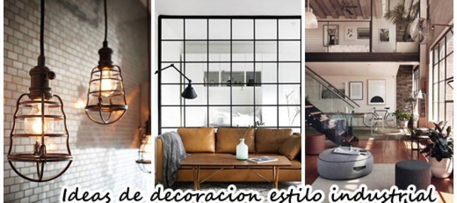 27 ideas de decoraciòn de interiores con estilo industrial