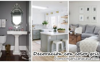 27 maneras de decorar interiores color gris