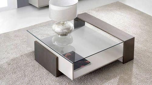 Decoracion de salas modernas como decorar tu sala este 2018 - Mesas de centro de cristal modernas ...