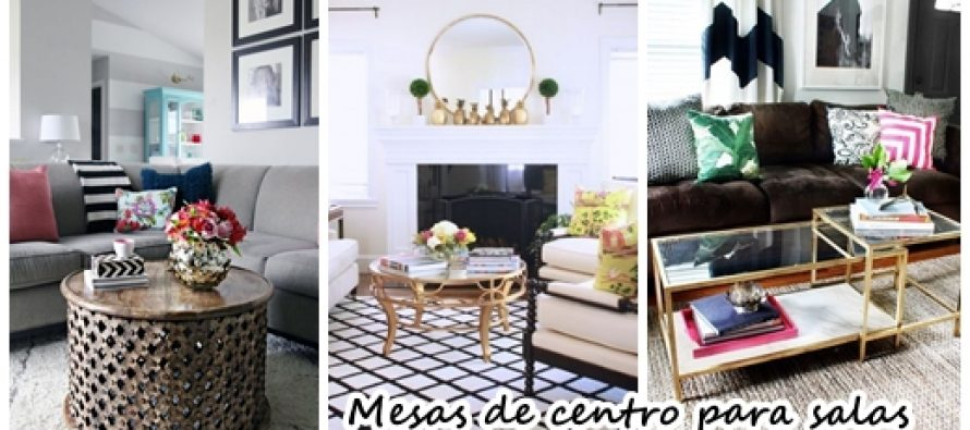 27 mesas de centro para salas de estar modernas curso de for Mesas de centro para sala modernas