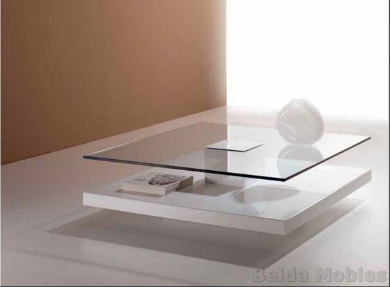 27 mesas centro salas estar modernas 7 decoracion de - Mesas de centro modernas para sala ...