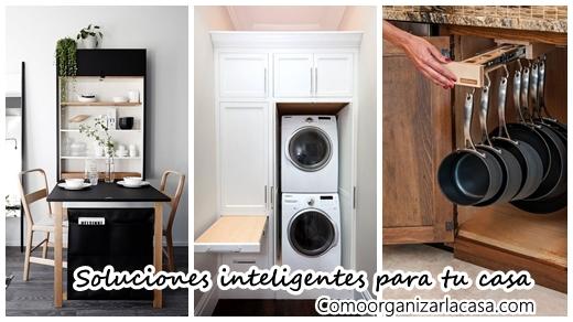27 soluciones inteligentes para casas peque as - Soluciones para casas pequenas ...