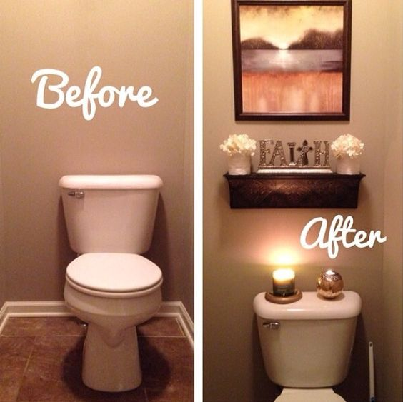 Best 25 Apartment Bathroom Decorating Ideas On Pinterest: 29-disenos-banos-visitas-elegantes (21)