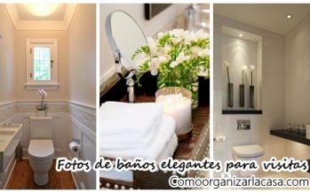 29 Diseños de baños de visitas muy elegantes