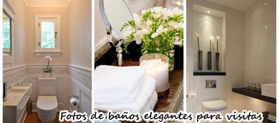 29 Diseños de baños de visitas muy elegantes  Curso de ...