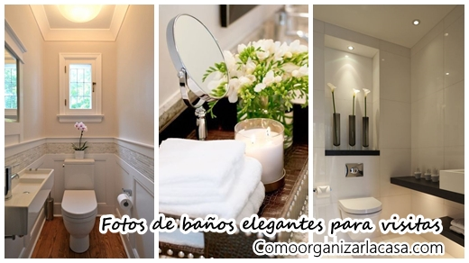 29 Diseños de baños de visitas muy elegantes   Decoracion de ...