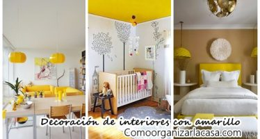 29 Ideas para decoración de interiores en color amarillo