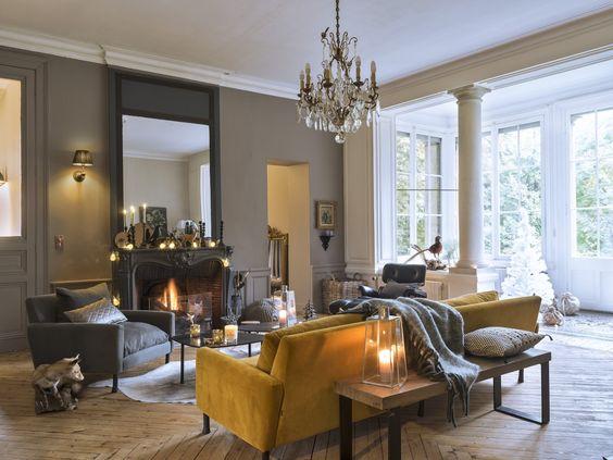 29 Ideas para decoración de interiores en color amarillo