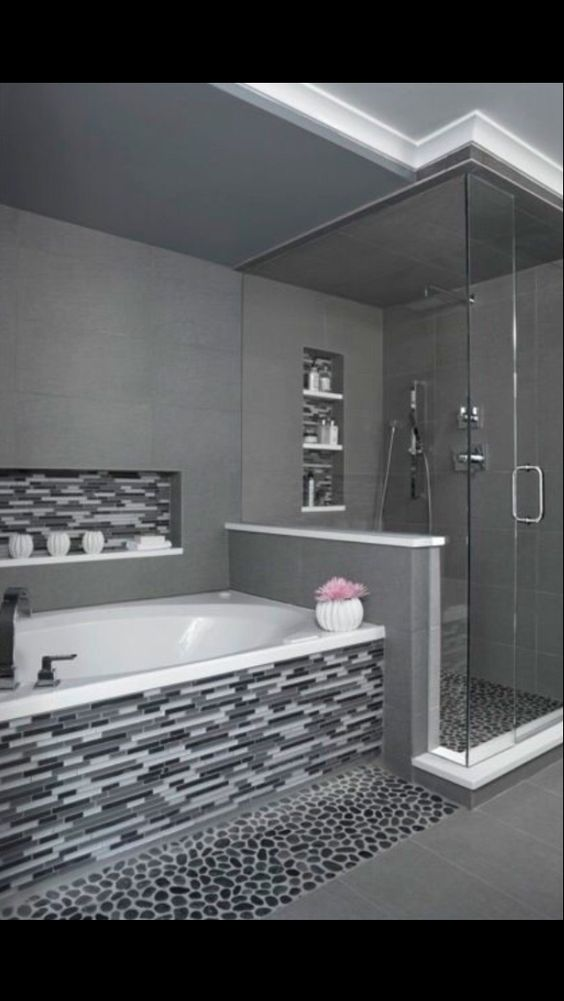 Black White And Gray Bathroom Ideas