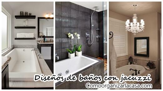 30 Diseños de baños con jacuzzi   Decoracion de interiores Fachadas ...