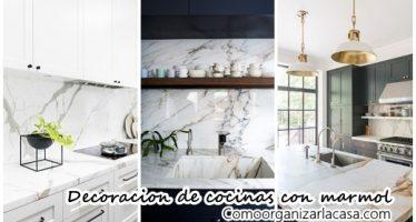 30 ideas para agregar marmol a tu cocina ¡Se verà increiblemente elegante!
