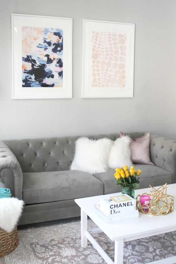 30 ideas decorar hogar gris blanco 3 decoracion de for Decoracion hogar gris
