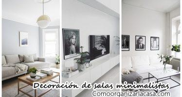 30 maneras diferentes de decorar tu sala de estar estilo minimalista