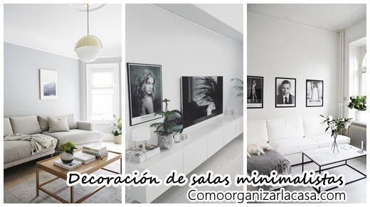 30 maneras diferentes de decorar tu sala de estar estilo for Decoracion de salas minimalistas
