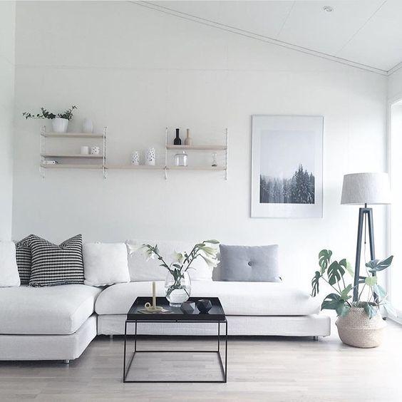 30 maneras diferentes decorar sala estar estilo for Organizar casa minimalista