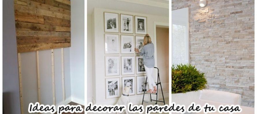 30 Opciones que tienes para decorar las paredes de tu casa