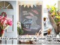 31 Ideas para decorar tu casa en primavera y pascua