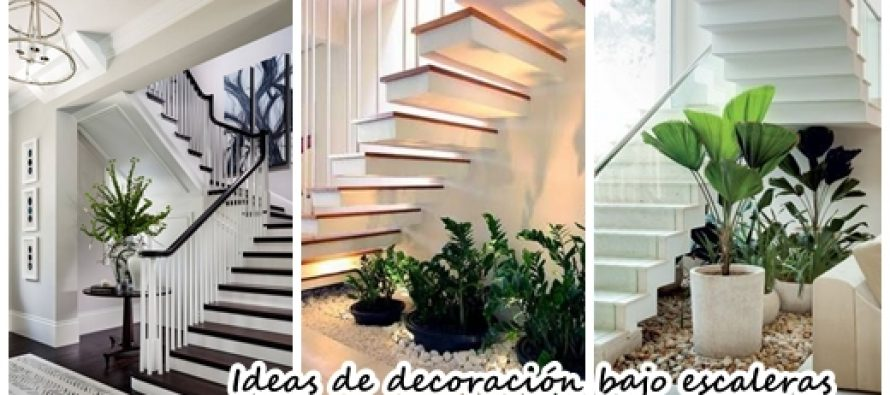 32 fabulosas ideas para decorar el espacio bajo la for Ideas bajo escalera