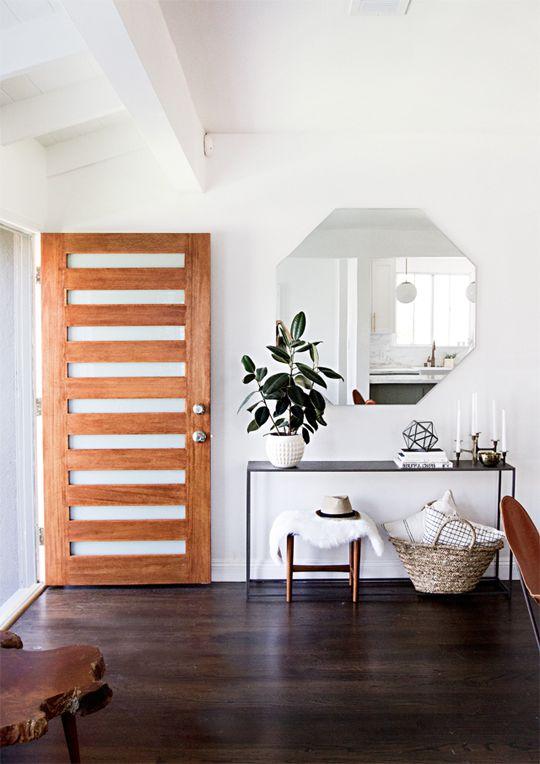 33 ideas para modernizar la entrada de tu casa