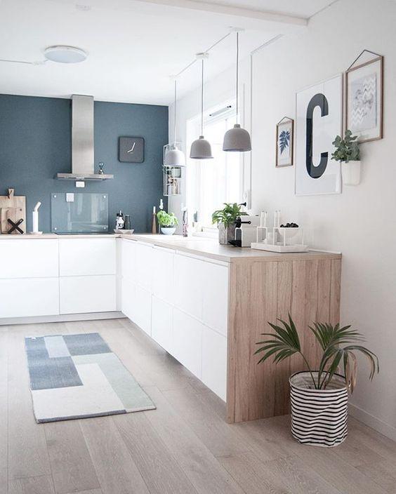 34 ideas plantas pueden decorar cocina 1 decoracion de - Ideas para decorar la cocina ...