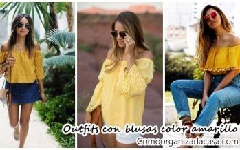 35 ideas de outfits para combinar una blusa amarilla