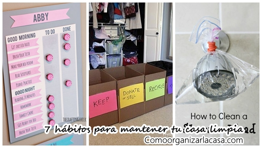 Como limpiar la casa - Como mantener la casa limpia ...