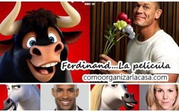 Ferdinand, la nueva pelicula infantil de Fox.