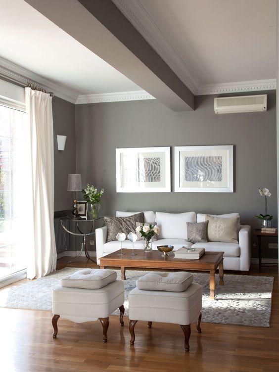 27 maneras de decorar interiores color gris