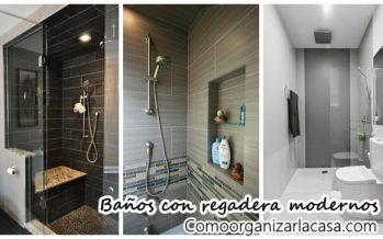 Baños con regadera ¡Modernos y sensacionales!