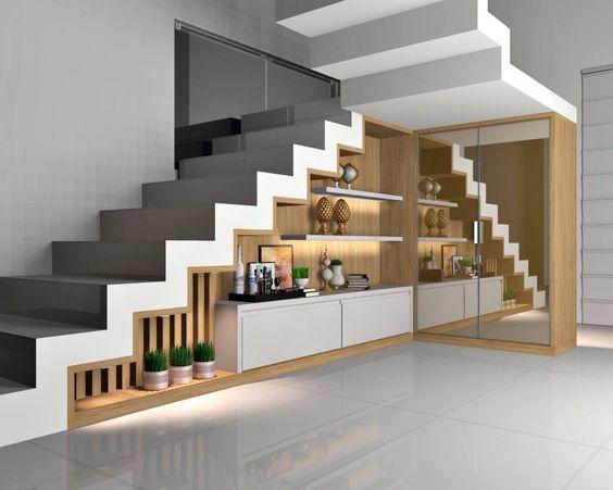 32 Fabulosas Ideas Para Decorar El Espacio Bajo La Escalera Como Organizar La Casa