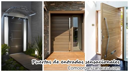 Bienvenidos 28 puertas de entrada sensacionales for Puertas de entrada de casas modernas