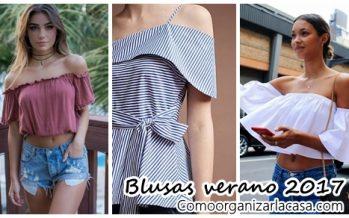 Blusas verano 2017
