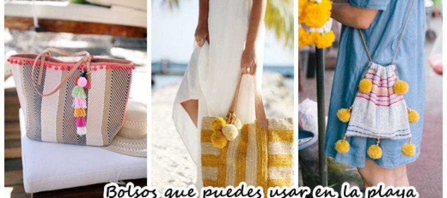 Bolsos que puedes usar para la playa