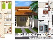 Diseño de casas de 70 m² que lo tienen todo