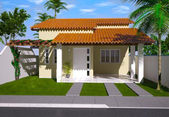 Fachadas Y Planos De Casas Pequenas Como Organizar La Casa