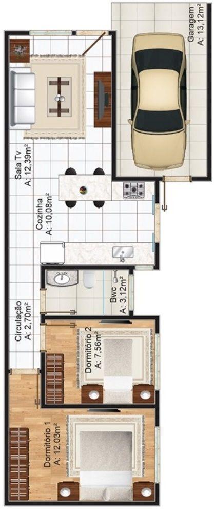 Diseno casas 70 m lo tienen 6 for Diseno para casa de 90 metros cuadrados
