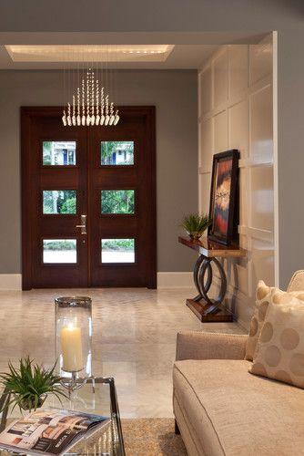 Diseños de puertas que le dan seguridad a tu hogar
