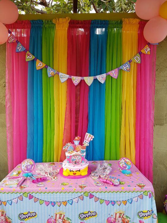 Fiesta infantil tema shopkins 15 decoracion de - Decoracion de interiores infantil ...