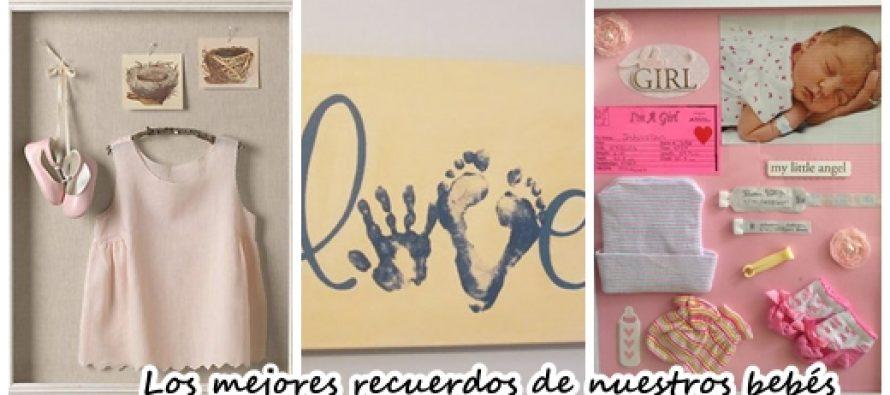 ideas para guardar recuerdos de nuestros bebs