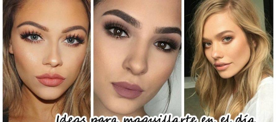 Ideas para maquillarte en el día