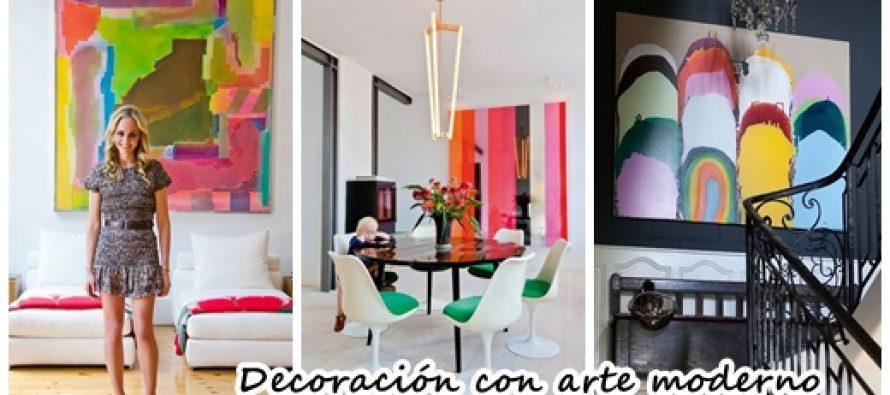 Maneras de usar arte moderno para decorar tu casa curso for Formas de decorar una casa