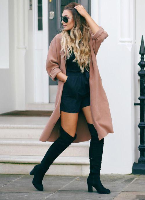 Outfits con botas arriba de la rodilla