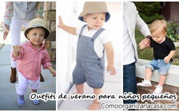 Outfits de verano para niños pequeñitos