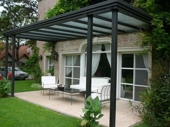 Patios techados una increible opcion casa 6 curso de - Tipos de toldos para patios ...