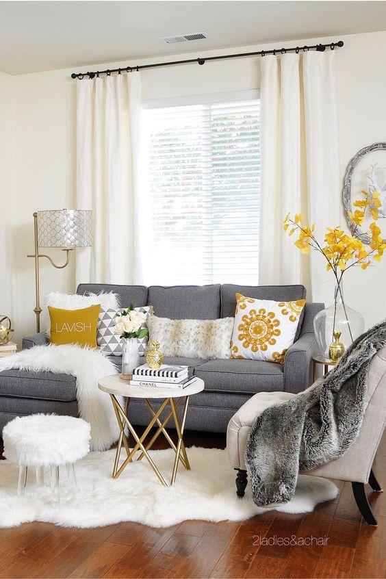 Salas pequeñas que te inspirarán a decorar la tuya