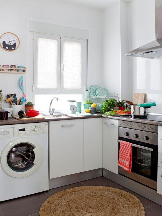 Ventanas frente del fregadero la cocina se ven increibles 2 decoracion de interiores - Frente cocina ...