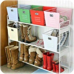 26 Ideas prácticas para organizar tus zapatos