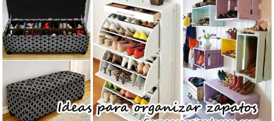 26 ideas pr cticas para organizar tus zapatos curso de - Ideas para organizar la casa ...